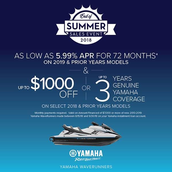 Yamaha Motors Corp Promotion