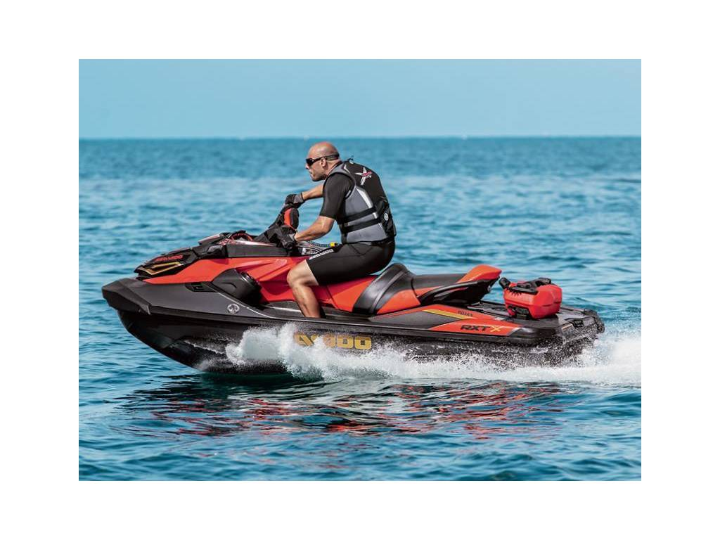 Man riding sea-doo